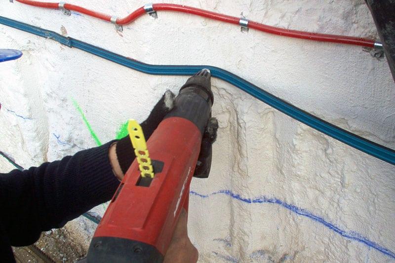 Impermeabilización de juntas en construcción