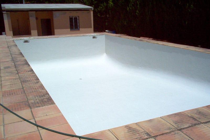 piscina tratada para una total impermeabilidad