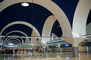 obras en paramentos Aeropuerto de Sevilla