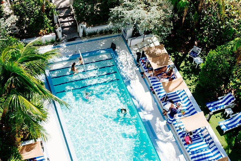 Impermeabilización de piscina en conjunto resort vacaciones