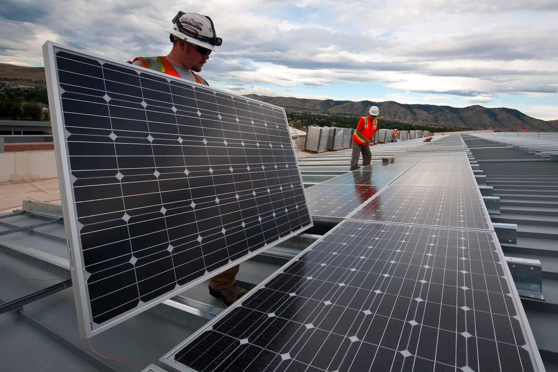 Generación energía solar renovable