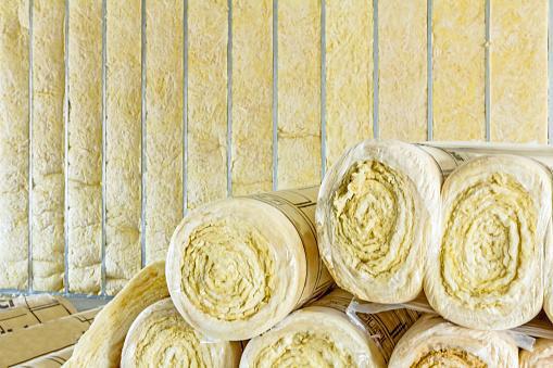Mantas de lana de roca