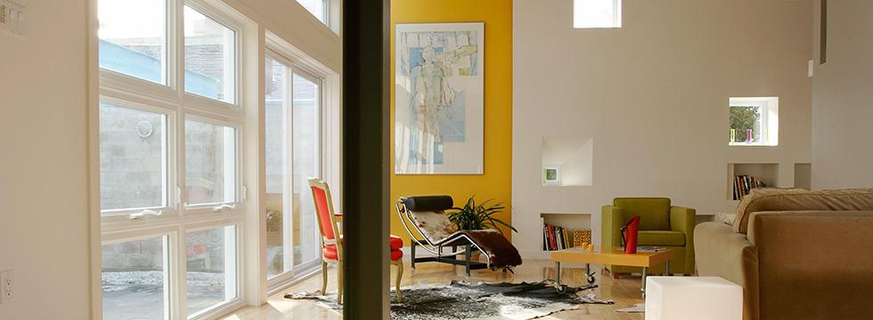 Interior confortable gracias al correcto aislamiento del inmueble