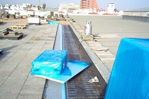 Proceso para impermeabilizar cubierta