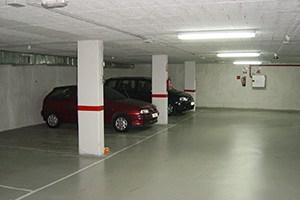 Estado final del garaje tras la impermeabilización
