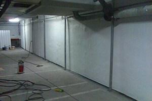 Impermeabilización de muros en garaje