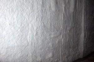 estado final de muro reparado y totalmente impermeabilizado
